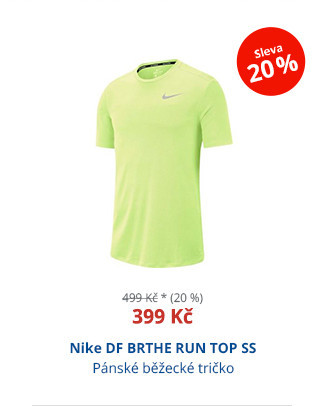Nike DF BRTHE RUN TOP SS