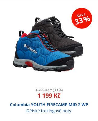 Columbia YOUTH FIRECAMP MID 2 WP