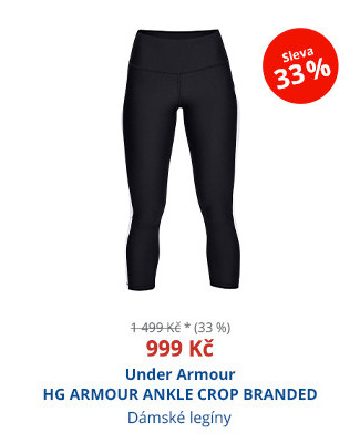 Under Armour HG ARMOUR ANKLE CROP BRANDED