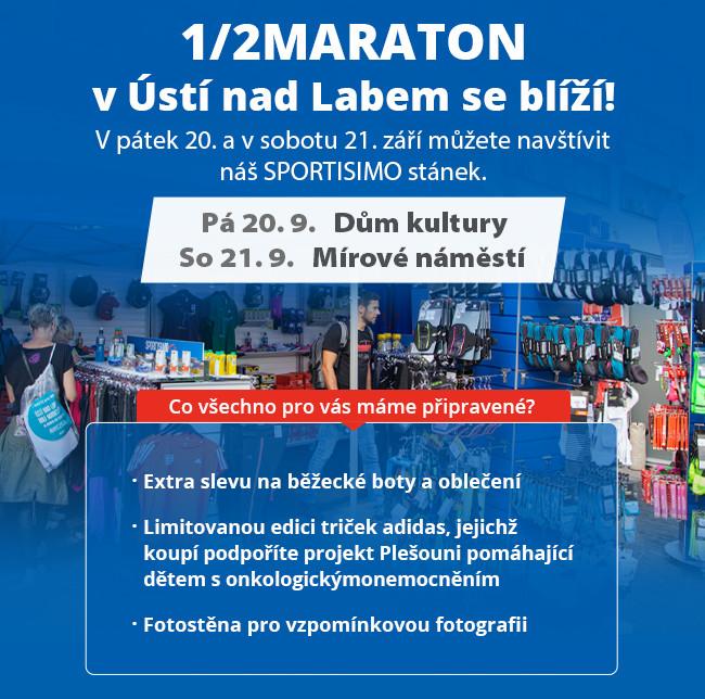 1/2 maraton Ústí nad Labem