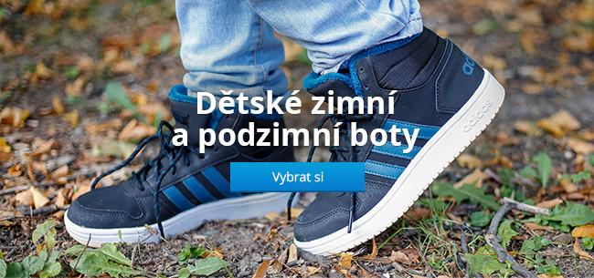 Dětské zimní a podzimní boty