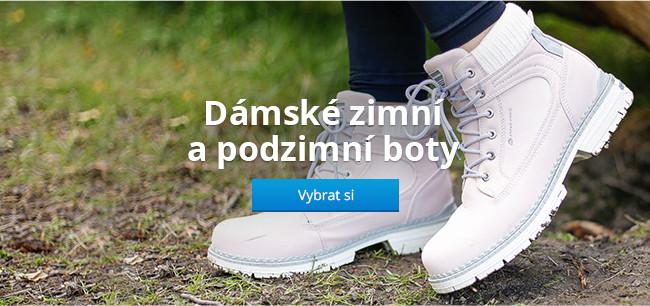 Dámské zimní a podzimní boty