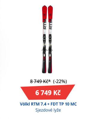 Völkl RTM 7.4 + FDT TP 10 MC