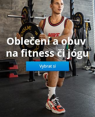 Oblečení a obuv na fitness či jógu
