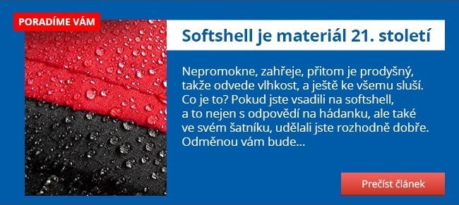 Softshell je materiál 21. století