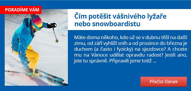 Čím potěšit vášnivého lyžaře nebo snowboardistu Článok