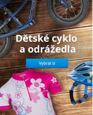Dětské cyklistické vybavení a odrážedla