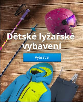 Dětské lyžařské vybavení
