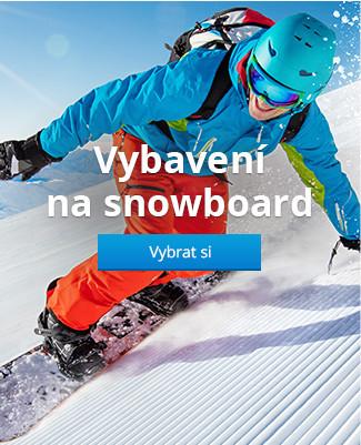 Vybavení na snowboard