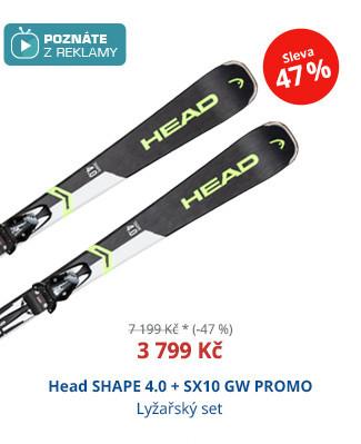 Head SHAPE 4.0 + SX10 GW PROMO