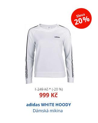 adidas WHITE HOODY