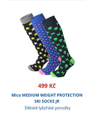 Mico MEDIUM WEIGHT PROTECTION SKI SOCKS JR