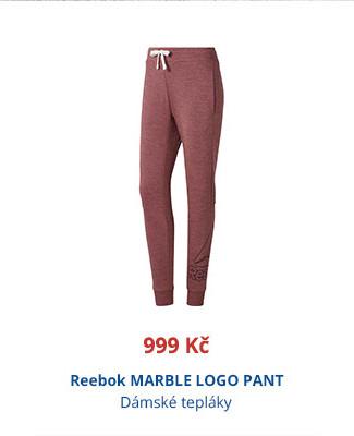 Reebok MARBLE LOGO PANT