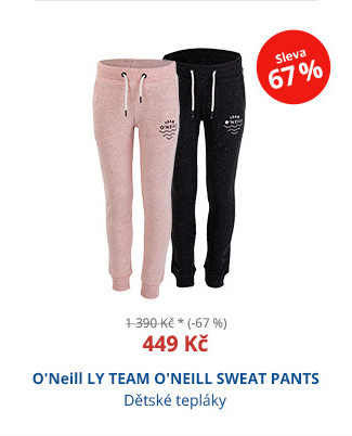 O'Neill LY TEAM O'NEILL SWEAT PANTS