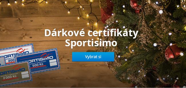 Dárkové certifikáty Sportisimo