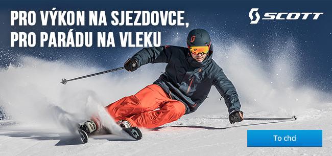 Vybavení na sjezdové lyžování Scott