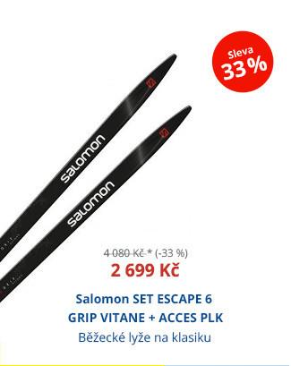 Salomon SET ESCAPE 6 GRIP VITANE + ACCES PLK