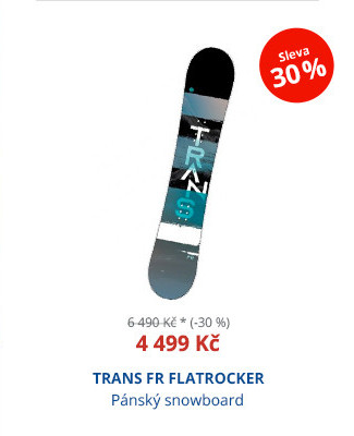 TRANS FR FLATROCKER