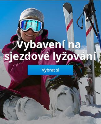 Vybavení na sjezdové lyžování
