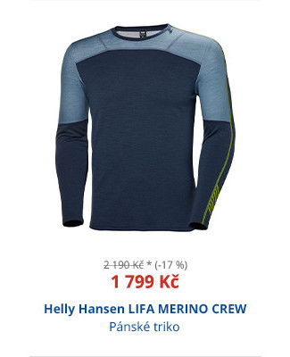 Helly Hansen LIFA MERINO CREW