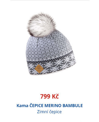 Kama ČEPICE MERINO BAMBULE