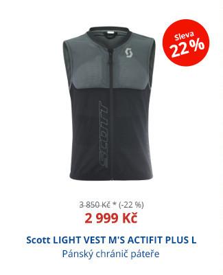 Scott LIGHT VEST M'S ACTIFIT PLUS L