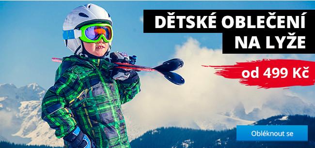 Dětské oblečení na lyže