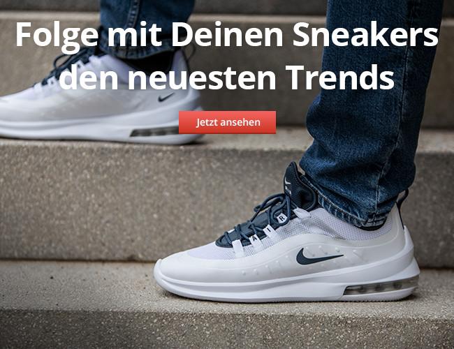 Folge mit Deinen Sneakers den neuesten Trends