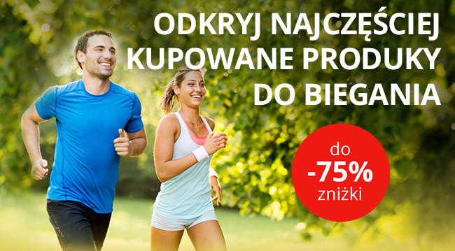 Odkryj najczęściej kupowane produky do biegania