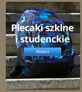 Plecaki szklne i studenckie