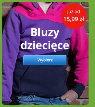 Bluzy dziecięce już od 15,99 zł