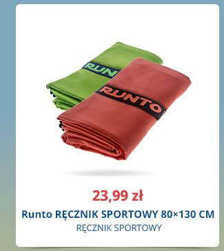 Runto RĘCZNIK SPORTOWY 80×130 cm
