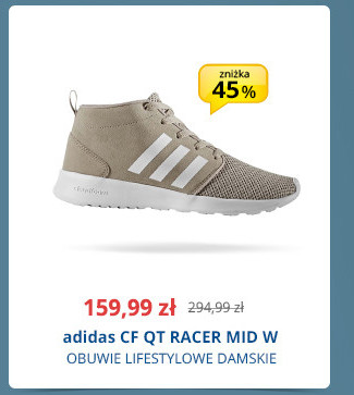 adidas CF QT RACER MID W