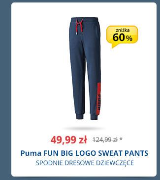 Puma FUN BIG LOGO SWEAT PANTS