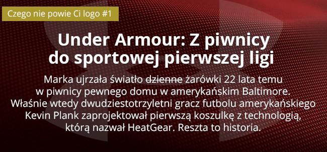 Under Armour: Z piwnicy do sportowej pierwszej ligi