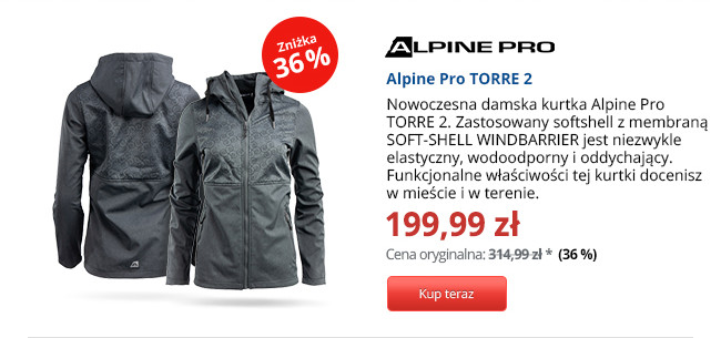 Alpine Pro TORRE 2