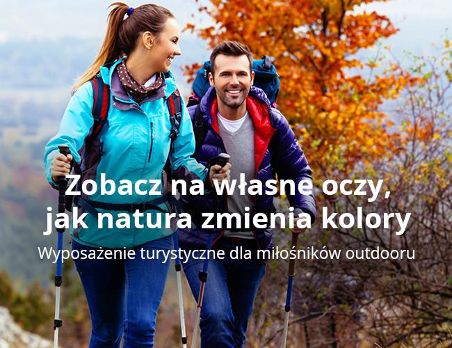 Wyposażenie turystyczne dla miłośników outdooru