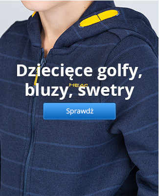 Dziecięce golfy, bluzy, swetry