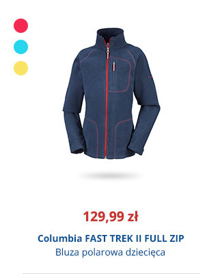 Columbia FAST TREK II FULL ZIP