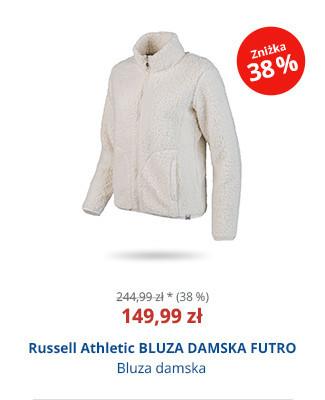Russell Athletic BLUZA DAMSKA FUTRO
