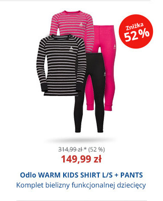 Odlo WARM KIDS SHIRT L/S + PANTS