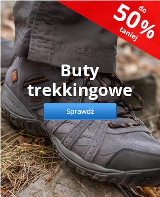 Buty trekkingowe – do 50% taniej