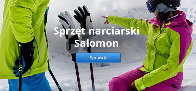Sprzęt narciarski Salomon