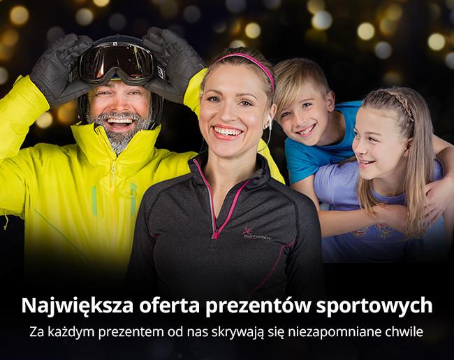 Największa oferta prezentów sportowych
