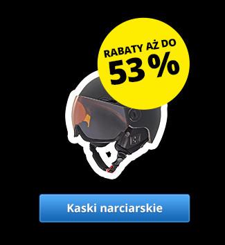 Kaski narciarskie – Rabaty aż do 53 %