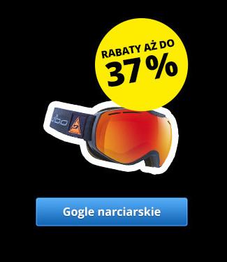 Gogle narciarskie – Rabaty aż do 37 %