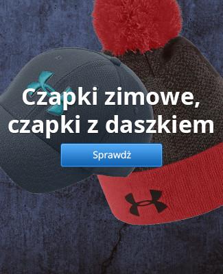 Czapki zimowe, czapki z daszkiem