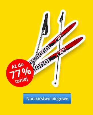 Narciarstwo biegowe – Rabaty aż do 77 %