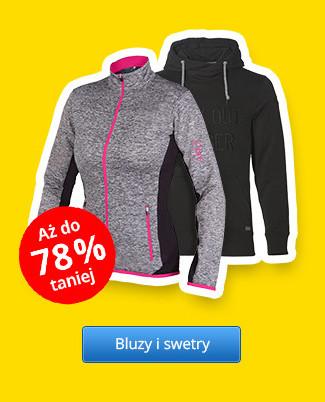 Bluzy i swetry – Rabaty aż do 78 %