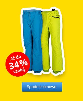 Spodnie zimowe – Rabaty aż do 34 %